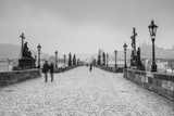 Charles Bridge, (Karluv Most), Prague, Czech Republic Photographic Print by Jon Arnold