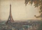 Paris Silhouette Posters by Paulo Romero