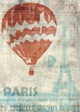 Paris Travel Prints by Ken Roko