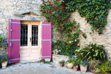 Traditional Architecture in Aigne Village, Languedoc-Roussillon, France Photographic Print by Nadia Isakova