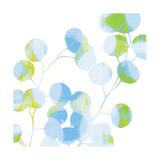 Blue Plums II Kunstdrucke von Ricki Mountain