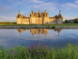 France, Loire Valley, Chateau De Chambord, Detail of Towers Photographic Print by Shaun Egan