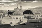 La Iglesia De La Compania De Jesus, Lined Dome of El Sagrario Church Photographic Print by John Coletti