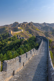 China, Hebei Province, Luanping County, Jinshanling, Great Wall of China Fotoprint van Alan Copson