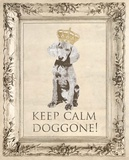 Keep Calm Doggone Prints by Morgan Yamada