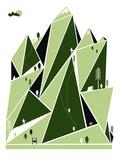 Mountain Hiking Serigrafi (silketryk) af  Brainstorm