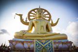 Wat Phra Yai Ko Pan (Big Buddha), Bo Phut, Koh Samui, Thailand Photographic Print by Jon Arnold