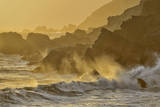 Waves Crashing on Shoreline,Pfeiffer State Park, Big Sur, California,Usa Photographic Print by Christian Heeb