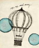 Up and away in Pen Posters par Morgan Yamada