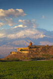 Armenia, Yerevan, Ararat Plain, Khor Virap Armenian Apostolic Church Monastery Photographic Print by Jane Sweeney