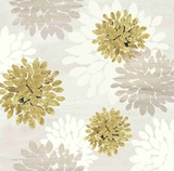 Gilded Aesthetic Flowers Prints by Bella Dos Santos