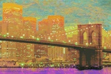 Vibrant City 1 Print by Christopher James