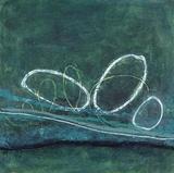 Oval Blues 1 Kunstdrucke von Filippo Ioco