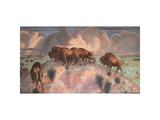 Buffalo Range Print by Van Soden