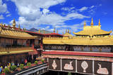 Jokhang Temple, Lhasa, Tibet, China Photographic Print by Ivan Vdovin