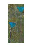 Teal Poppies IV Giclee Print by Ricki Mountain