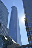 Freedom Tower at the World Financial Center, New York, Usa Fotografisk tryk af Christian Heeb