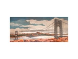 George Washington Bridge Prints by Thomas H. Donnelly
