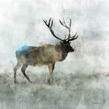 Solo Stag Print by Ken Roko
