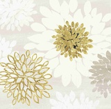 Gilded Aesthetic Bloom Prints by Bella Dos Santos