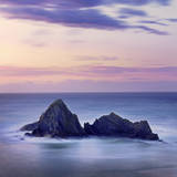 Spain, Basque, Ondarroa, Rock Formations at Sea Photographic Print by Shaun Egan