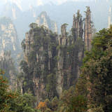 Zhangjiajie National Forest Park, Hunan, China Photographic Print by Ivan Vdovin