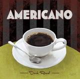 Americano Dark Roast Posters by Anastasia Ricci