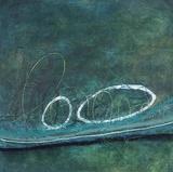 Oval Blues 2 Poster von Filippo Ioco