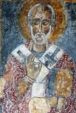 Fresco of the Cave Church San Nicola Dei Greci, Sassi Di Matera, Basilicata, Italy Photographic Print by Ivan Vdovin