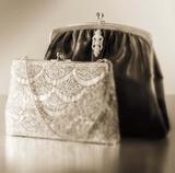 Vintage Glamour Evening Bags Prints by Julie Greenwood