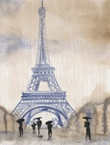 Paris Street 2 Posters by Madelaine Morris