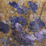 Blue Meadow 1 Prints by Matina Theodosiou