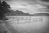 Italy, Lombardy, Lecco District. Como Lake, Dervio. Stations for Fishing the Agone Fish Photographic Print by Francesco Iacobelli