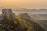 China, Beijing Municipality, Miyun County, Great Wall of China (Unesco World Heritage Site) Photographic Print by Alan Copson
