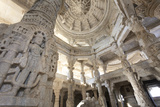 India, Rajasthan, Ranakpur Jain Temple Photographic Print by Michele Falzone