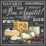 Gourmet Cheese Collection Poster by Chad Barrett