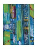 Blue on Blue I Kunstdrucke von Ricki Mountain