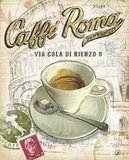 Caffe Roma Poster by Chad Barrett