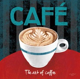 The Art of Coffee Posters by Anastasia Ricci