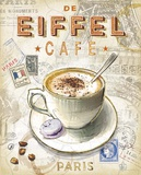 Eiffel Tower Café Print by Chad Barrett
