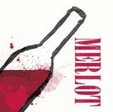 Artist Series Wine 3 Print by Evangeline Taylor