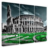 Rome Coliseum 3 Piece Gallery Wrapped Canvas Set Gallery Wrapped Canvas Set
