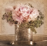 Heirloom Peony Print by Julie Greenwood
