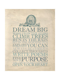 Dream Big Posters by Morgan Yamada