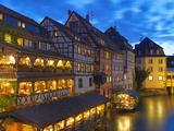 France, Alsace, Strasbourg, La-Petite-France Photographic Print by Shaun Egan