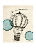 Up and Away in Pen Print by Morgan Yamada
