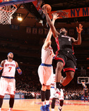 Jan 9, 2014, Miami Heat vs New York Knicks - LeBron James Photographic Print by Nathaniel S. Butler