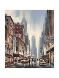 Eighth Avenue Giclee Print by Brent Heighton