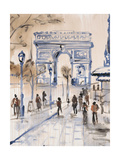 Paris Street 1 Prints by Madelaine Morris