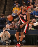 Feb 7, 2014, Portland Trailblazers vs Indiana Pacers - LaMarcus Aldridge Photographic Print by Ron Hoskins